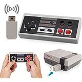 Wireless NES Classic Mini Rechargeable Controller,NES Wireless Gamepad For Nintendo NES Classic Mini Edition, Wireless Joypad & Gamepads Controller (Nintendo Entertainment System Classic Mini)