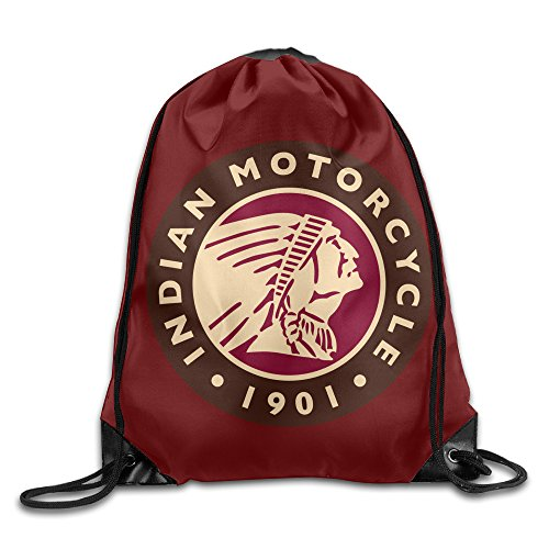 (Indian Motorcycle 1901 Unisex Gym Bag Drawstring Backpack/Rucksack)
