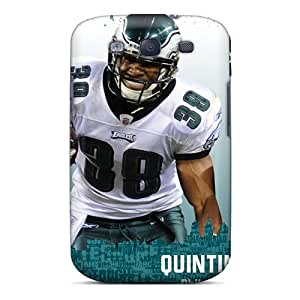 High-end Case Cover Protector For Galaxy S3(quintin Demps Tennessee Titans Player)