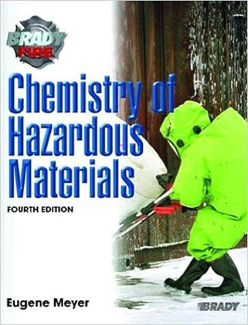 Chemistry of hazardous materials 4th edition eugene meyer chemistry of hazardous materials 4th edition eugene meyer 9780131127609 amazon books fandeluxe Images