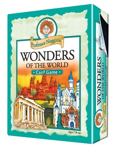 Professor Noggin's Wonders of the World - A Educational Trivia Based Card Game For Kids