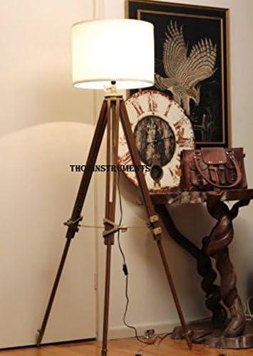 Thor Vintage Classic Tripod Floor Lamp Nautical Floor Lamp Home Decor lamp