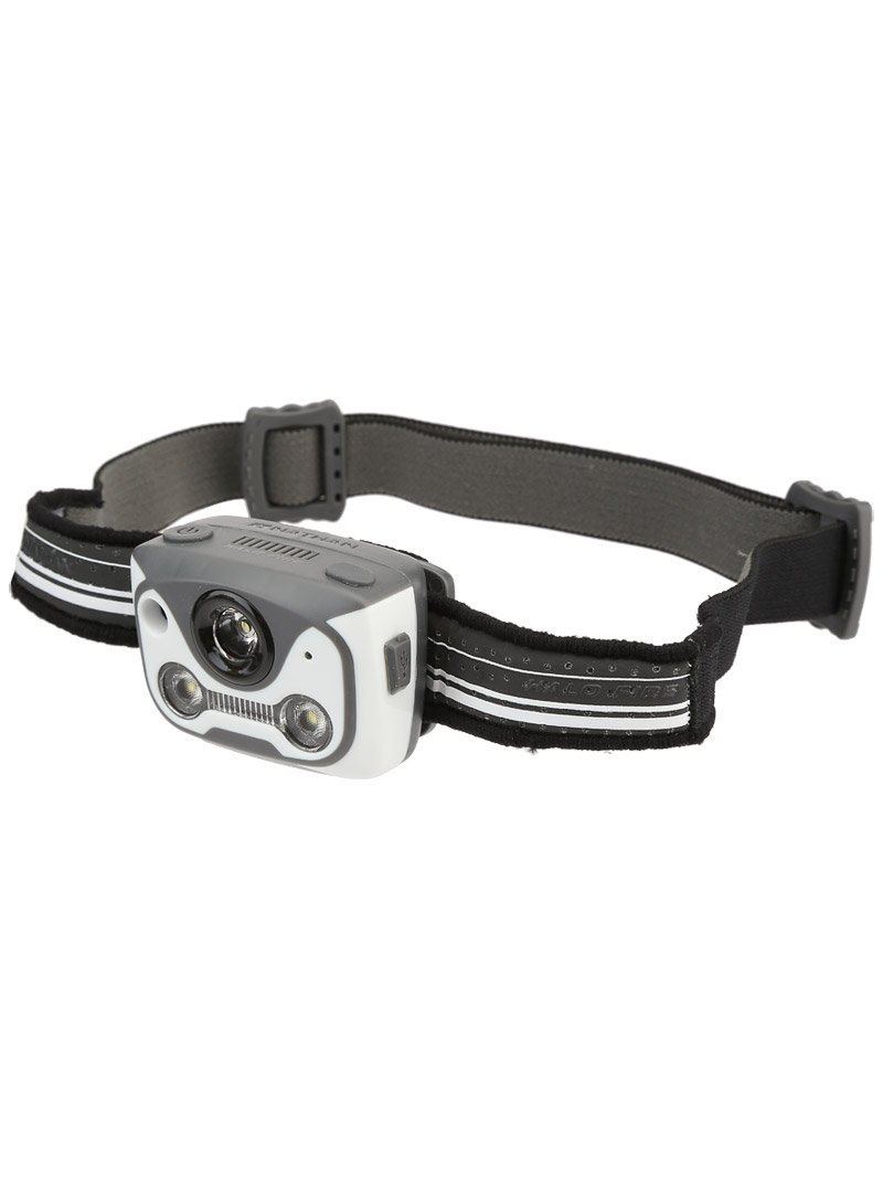 Nathan Halo Fire Headlamp, White/Black