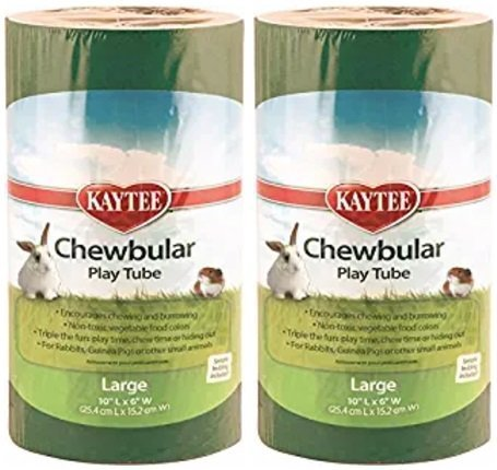 Interpet Limited Super Pet Totally Chewbular Play Tube (2 Pack)