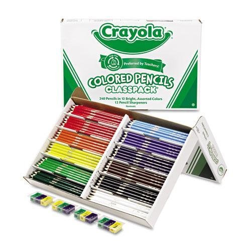 - CYO688024 - Crayola Classpack Colored Pencil