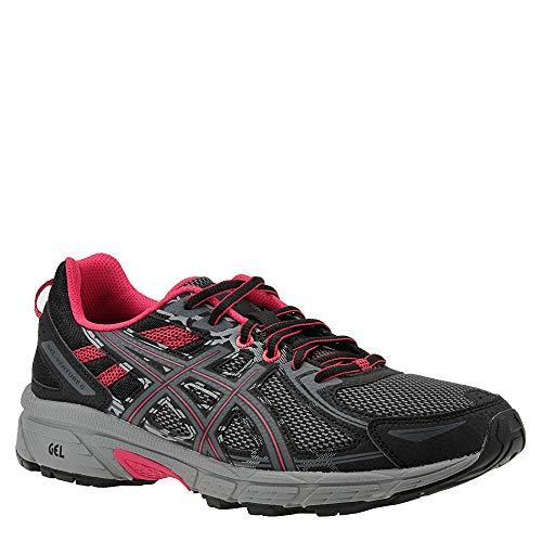 ASICS Women's Gel-Venture 6 Running-Shoes Black Pixel Pink