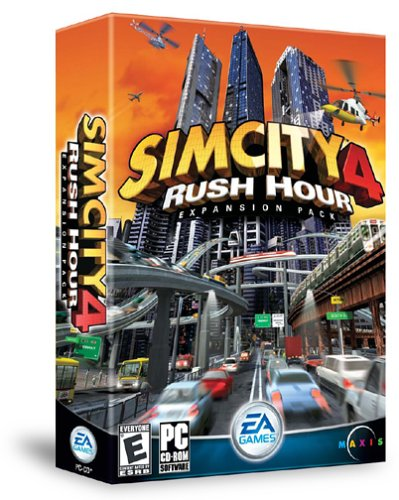 Sim City 4 Rush Hour Expansion - SimCity 4: Rush Hour Expansion Pack - PC