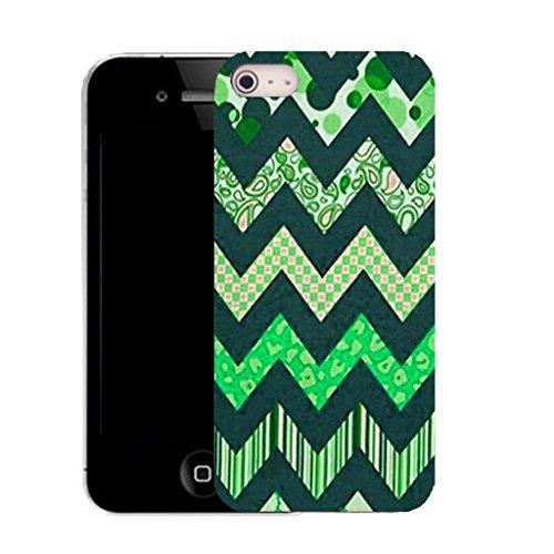 coque housse etui case cover apple iphone 4 et 4s - green zealous