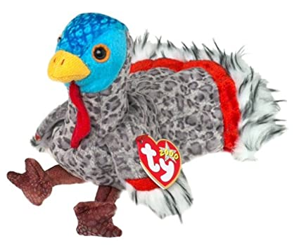 980afd46dd8 Image Unavailable. Image not available for. Color  TY Beanie Baby - LURKEY  the Turkey