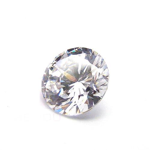 Forma de estrella piedras Cubic Zirconia Blanco 4mm para la fabricación de joyas