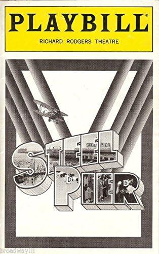 STEEL PIER Playbill GREGORY HARRISON DEBRA MONK NYC Flop 1997 KAREN ZIEMBA