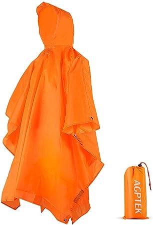 5 pcs Cape de Pluie pour Adultes avec Capuche et Manches Les Sports Poncho de Pluie Jetable Le Camping Imperm/éable pour La Randonn/ée