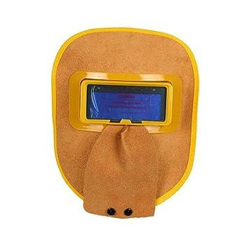 LAIABOR Máscara De Soldador Casco De Soldadura Automática por Energía Solar De Profundidad Profunda Máscara De Oscurecimiento Automático: Amazon.es: ...