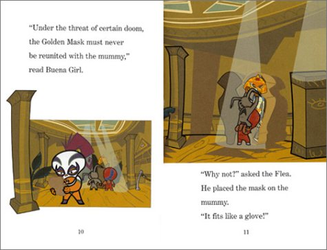 Mucha Lucha!: Mummy with the Golden Mask (Festival Readers)