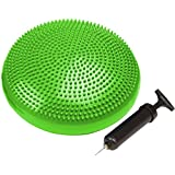 Trademark Innovations Fitness and Balance Disc Seat, 13-Inch Diameter, Green