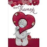 Fiance Birthday Me to You Bear Card