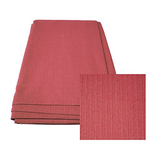 Intralin Corporation Polycotton Blend Ribcord Bedspread - Twin (Rose)