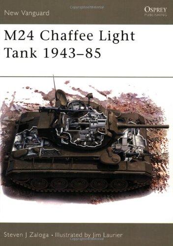 M24 Chaffee Light Tank 1943-85 (New Vanguard)