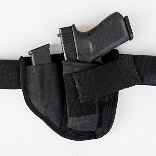 Brave Response Appendix Gun Holster for Concealed Carry - Belly Band IWB Holster Fits ALL CCW Handguns Pistols Revolvers - Men and Women (Left Handed)
