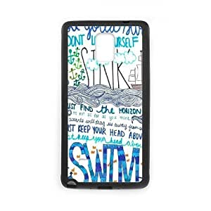 I refuse to sink High Qulity Customized Cell Phone Case for Samsung Galaxy Note 4, I refuse to sink Galaxy Note 4 Cover Case