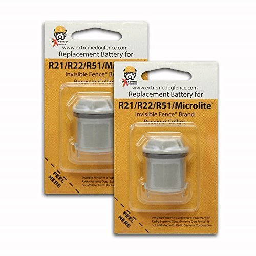 Invisible Fence Brand Compatible Batteries - 4 Pack