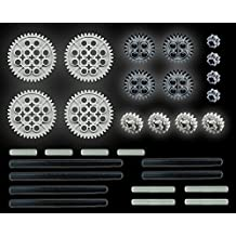 LEGO 30pc Technic gear & axle SET (Mindstorms nxt robot rcx lot pack hobby NEW) by LEGO