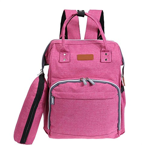Red Bags Large Multi Domybest Baby functional Bag Diaper Capacity Handbags Shoulder Rose Care Travel Mom Backpack dI7qZ7w