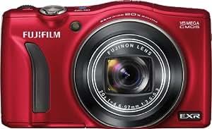 Fujifilm FinePix F770EXR 16 MP Digital Camera with 20x Optical Zoom (Red)