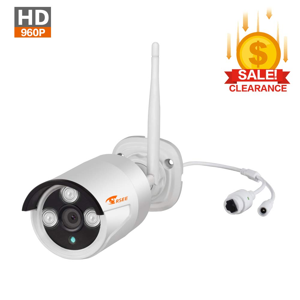 CORSEE Wireless IP Camera,960P HD Weatherproof Bullt Camera (This Camera Must Match The CORSEE Wireless Surveillance Kit to Work) by corsee
