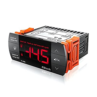 Elitech E-1000 Temperature Controller Origin Digital 110V Centigrade Thermostat