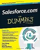 Salesforce.com For Dummies 5th edition by Wong, Tom, Kao, Liz, Kaufman, Matt (2014) Paperback