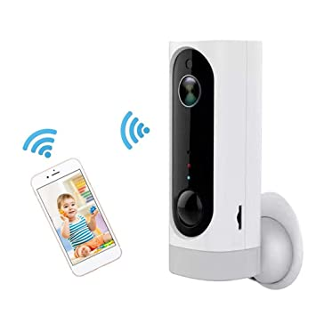 CatcherMy WiFi Cámara IP WiFi Cámara de Vigilancia Daping Indoor Home Pet Baby Camera Monitor con