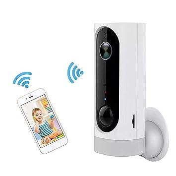 Vigilancia Cámara IP,IP Cámara Wifi Inalámbrica con APP para iOS, Android, Camara