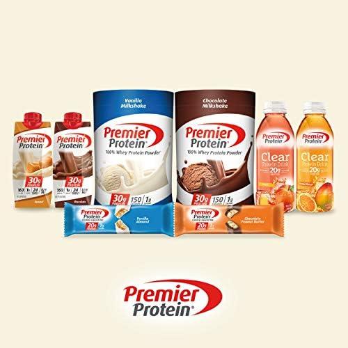 Premier Protein 30g Protein Shake, Cafe Latte, 11.5 Fl Oz, Pack of 12, Café Latte 7
