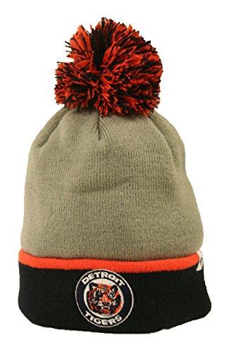 Detroit Tigers Pom Hat Tigers Hat With Pom Tigers Pom Beanie