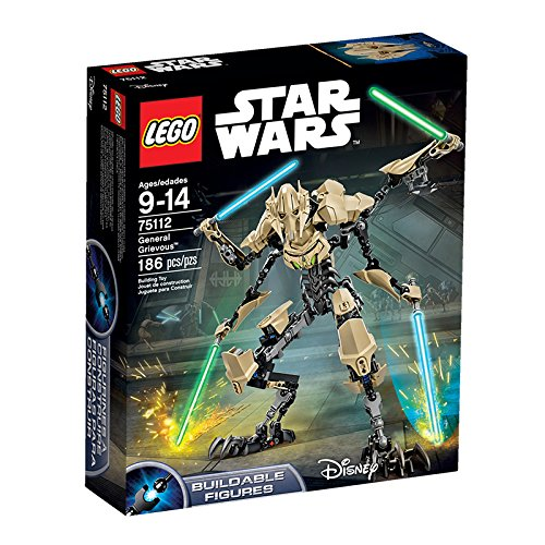 LEGO Star Wars Episode III Revenge of the Sith General Grievous Action Figure