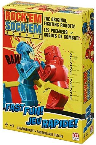 Mattel Games -Rockem Sockem robots de lucha, juegos niños +6 ...