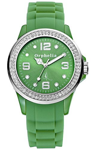Orphelia OR25100055 - Women's Watch, Silicon, Green Color