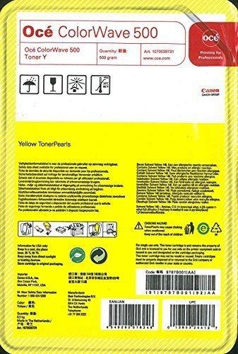Oce Colorwave 500 Yellow Toner Pearls (Pearl Inkjet)