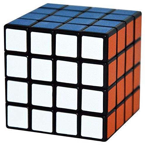 4x4x4 Magique Cube Coolzon® Puzzle Jouet Autocollant Matte 60mm, Noir