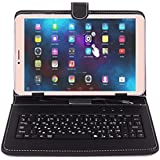 Ikall N1 Tablet with Keyboard (8 inch, 2GB RAM, 16GB, 4G + LTE + Voice Calling), Gold