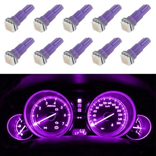purple led cluster bulbs - 1