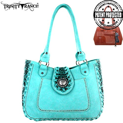montana-west-trinity-ranch-concealed-handgun-collection-purse-turquoise-tote