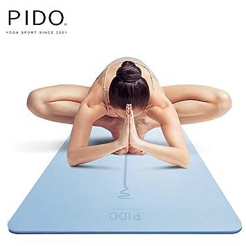 Amazon.com: wwww PIDO - Esterilla de yoga con línea de ...