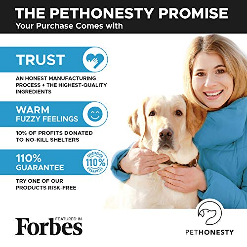 Salmon Oil for Dogs - Omega 3 Fish Oil For Dogs All-Natural Wild Alaskan Salmon Chews Omega 3 for Dogs for Healthy Skin & Coat, Cure Itchy Skin, Dog Allergies, Reduce Shedding - 90 Ct. Fish Oil by PetHonesty (Image #7)