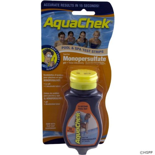 AquaChek 561682 Monopersulfate Test Strips for Pool or (Monopersulfate Test Strips)