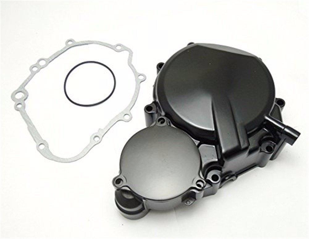 HTT- For Suzuki GSXR 600/750 2006-2013 Engine Stator cover BLACK Left w/ Gasket by HTTMT (Image #1)