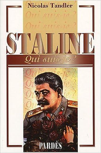 """Livres gratuits """"Qui suis-je?"""" Staline pdf"""