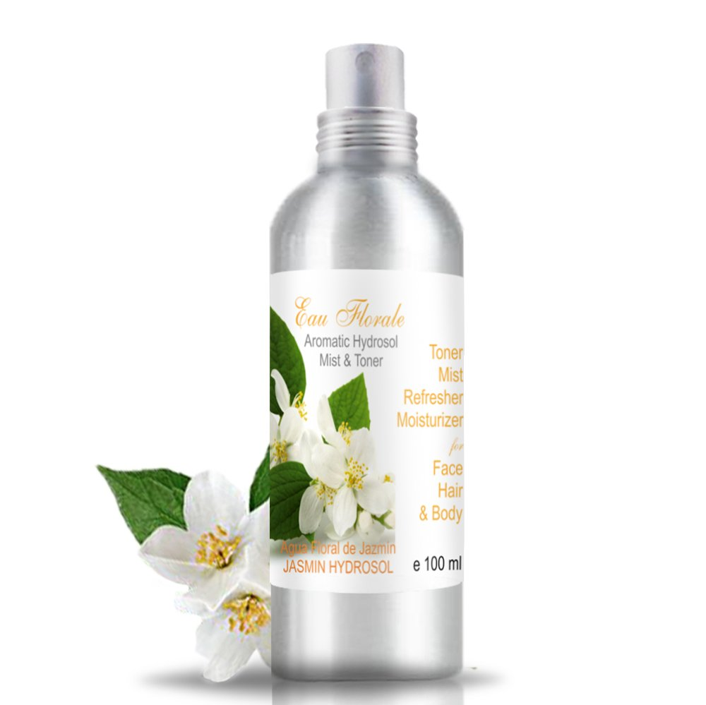 Jasmine Hydrosol Floral Water 100 ml 100% NATURAL Anti Wrinkles Mature Skin Anti Age Made in France