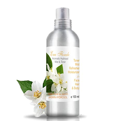 Hidrolato de Jazmín 100 ml spray ○ Agua Floral ○ Tónico Facial 100% Natural